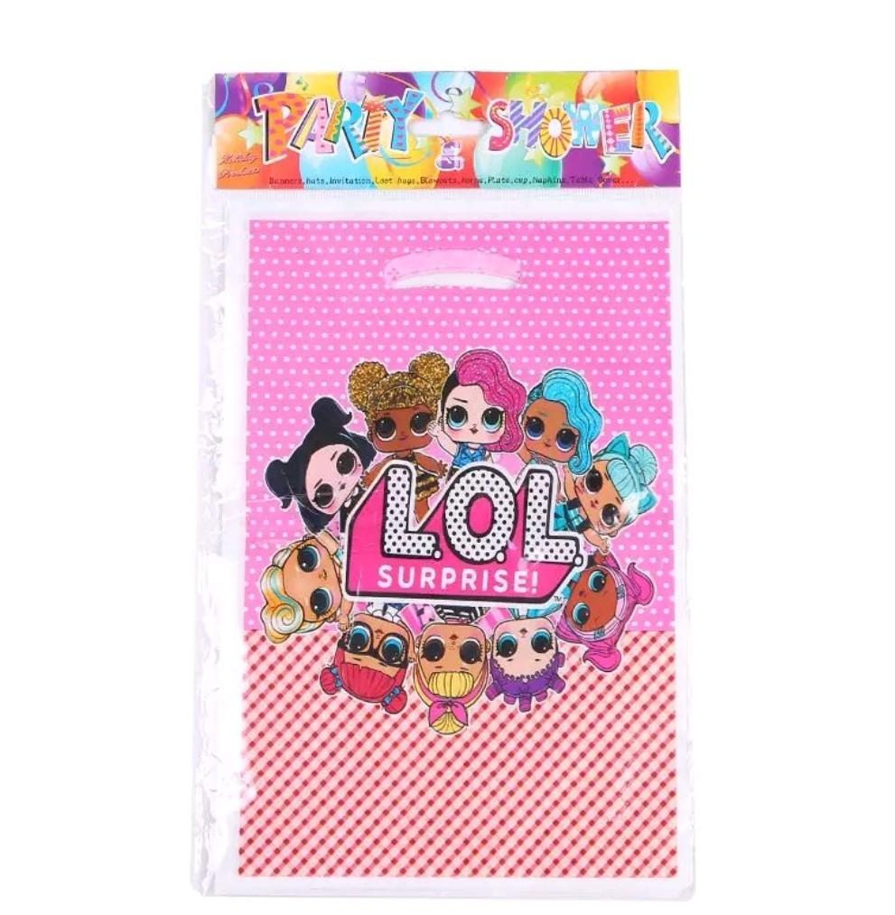 10 bustine bamboline LoL Surprise confezioni regalo