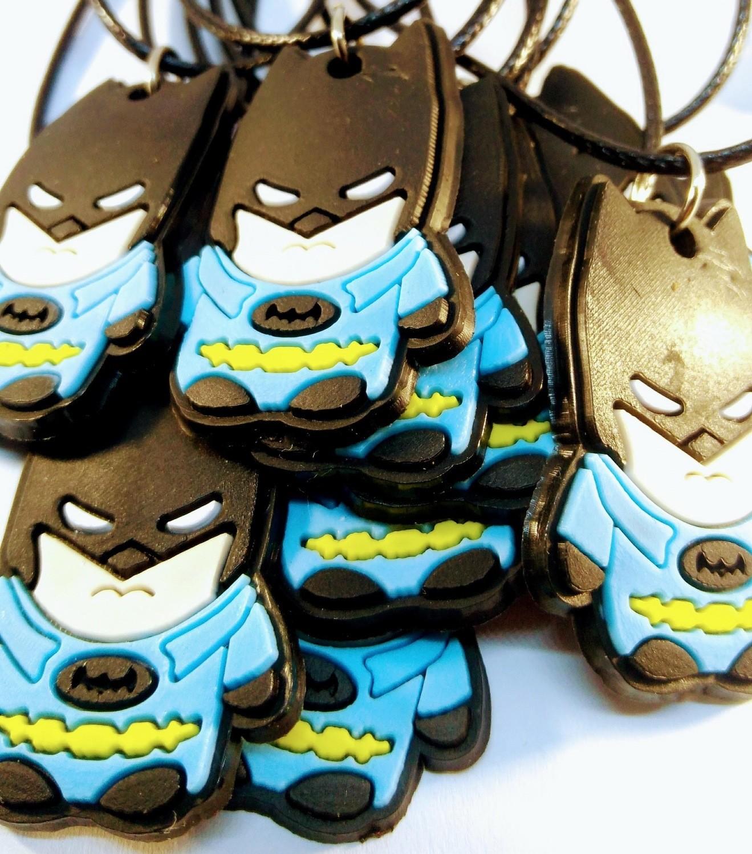 10 Collane Batman pendente in PVC