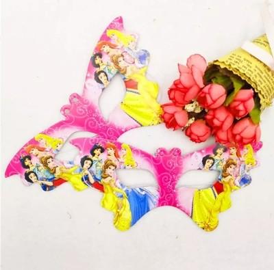 10 Maschere a tema Principesse Disney addobbi decorazioni festa compleanno bambini