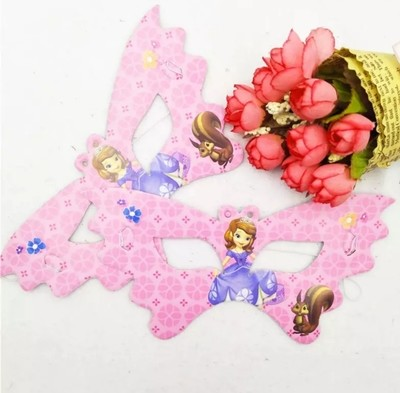 10 Maschere a tema Principessa Sofia  addobbi decorazioni festa compleanno bambini