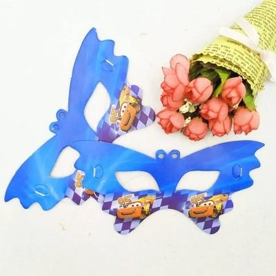 10 Maschere a tema Cars Saetta McQueen addobbi decorazioni festa compleanno bambini