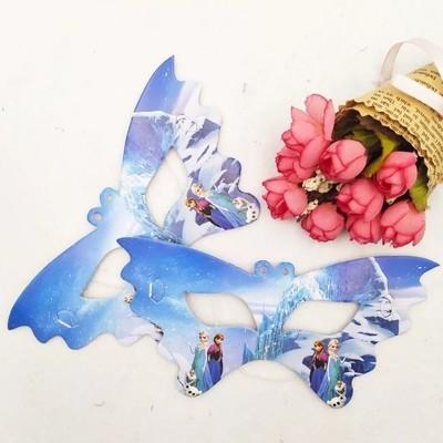 10 Maschere a tema Principesse Anna Elsa Frozen addobbi decorazioni festa compleanno bambini