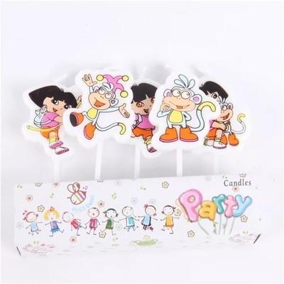 5 candeline Dora decorazioni torte festa compleanno a tema