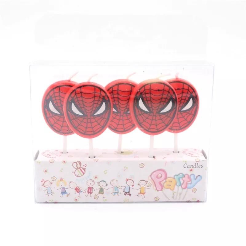 5 candeline Spiderman decorazioni torte festa compleanno a tema