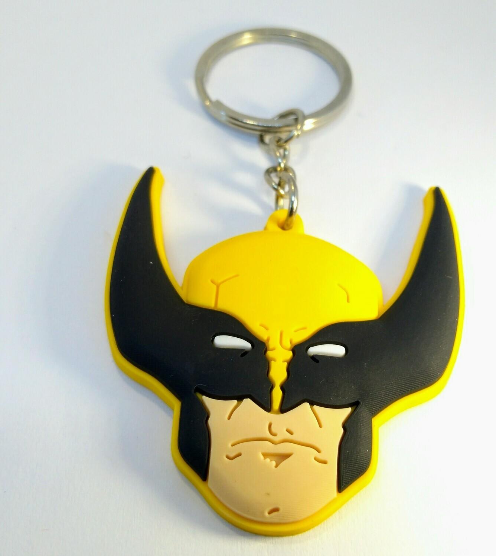 10 portachiavi Wolverine X-Men chiusura zip lampo zaino scuola