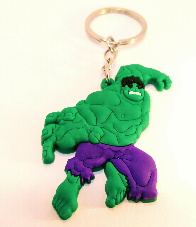 10 portachiavi Hulk chiusura zip lampo zaino scuola