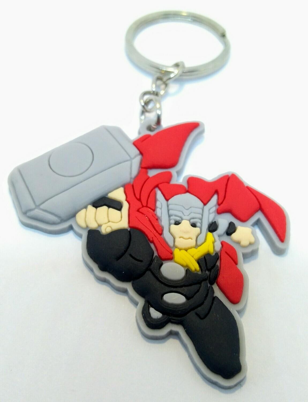 10 portachiavi Thor chiusura zip lampo zaino scuola