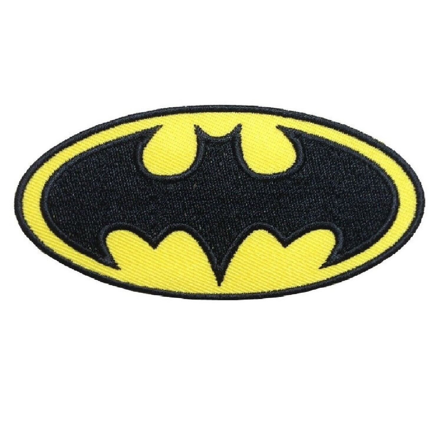 10 Toppe Patch termoadesive a tema Batman