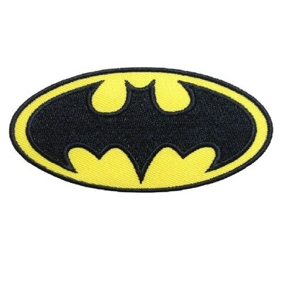 10 Toppe Patch termoadesive a tema Batman