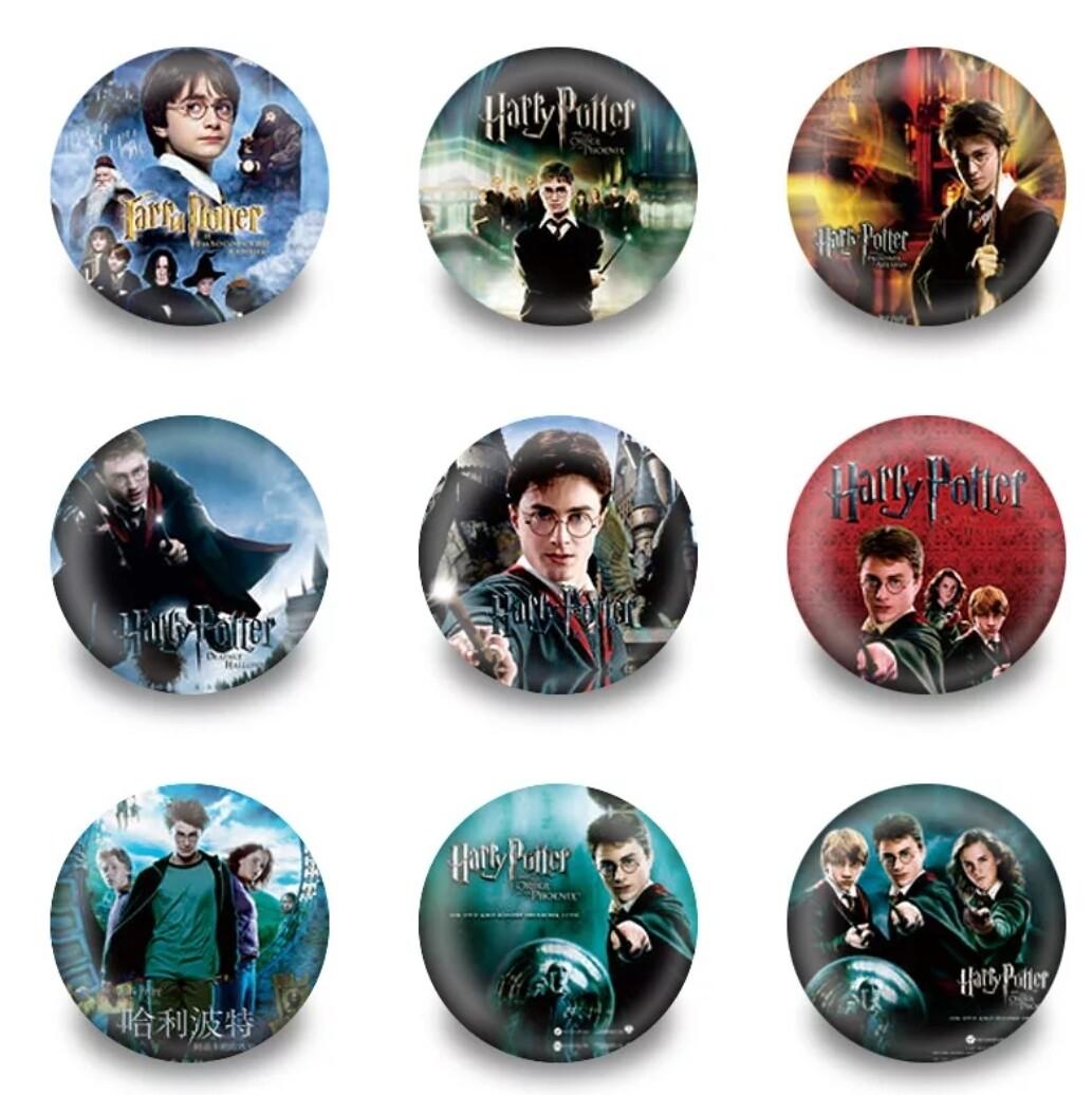 10 Spille 3cm zaino scuola personalizzate Harry Potter
