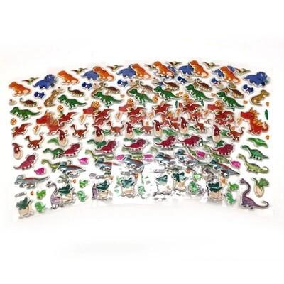 30 fogli stickers Adesivi Dinosauri