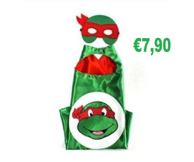 Tartaruga Ninja Turtle Costume maschera carnevale travestimento cosplay Bambini