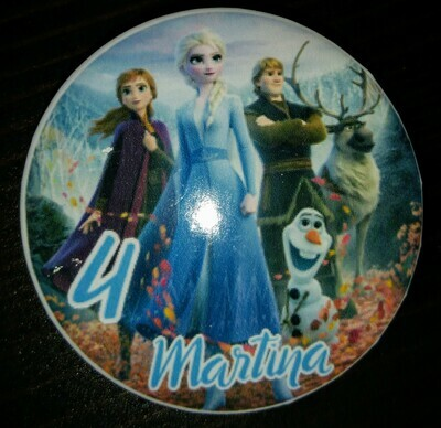 10 Spille 4.5cm zaino scuola personalizzabili principesse anna elsa Frozen