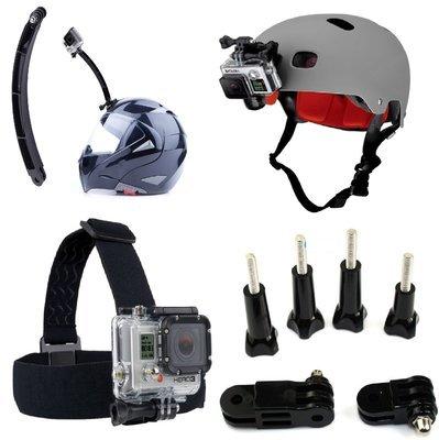 Nilox supporti e attacchi di fissaggio casco Fascia elastica headband testa asta curva staffa prolunga Snodi