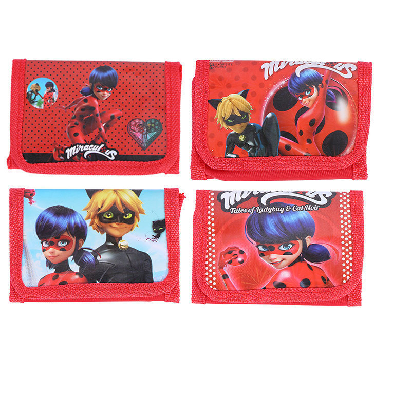 6 Portafogli Miracolous ladybug Portamonete Gadget regalini bambine