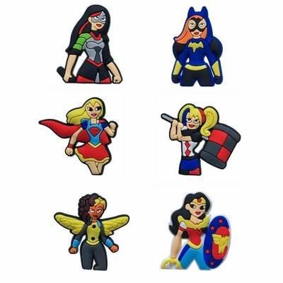 10 magneti Super Eroine Marvel calamite Frigo a tema