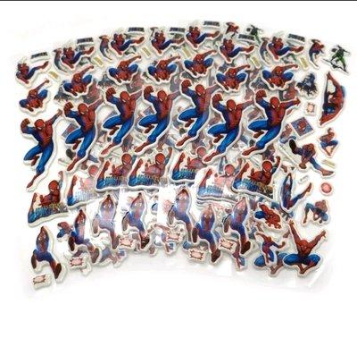 30 fogli stickers Adesivi a tema Spiderman