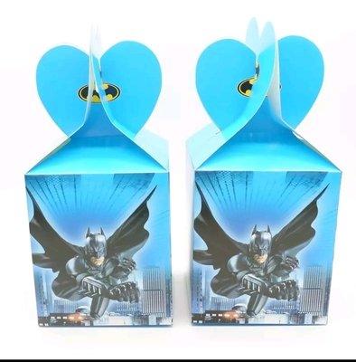 10 Scatoline Batman Regalo porta Gadgets confetti Caramelle