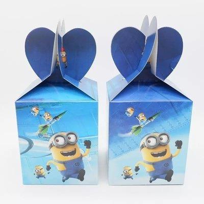 10 Scatoline Regalo I Minions porta Gadgets confetti Caramelle
