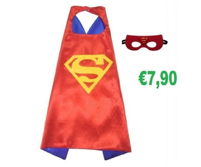 Superman Costume maschera carnevale travestimento cosplay