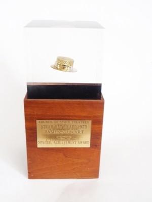 Genuine James Stewart Straw Hat Award from Personal Estate Belongings