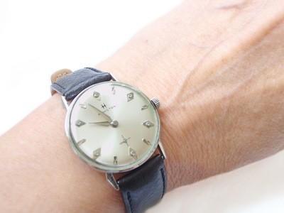 Vintage Hamilton Lord Lancaster Diamond Gold Filled Watch