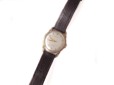 Duo-Wind Fancy Lugs  Bulova Doctor's Watch with Second Sweep and Seconds