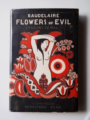 Baudelaire Flowers of Evil 1933 Beresford Egan Art Deco Illustration Ltd 1st Ed