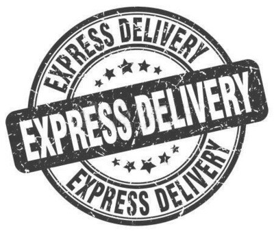 EXPRESS SHIPPING OPTION for Birthday, Anniversary, Christmas