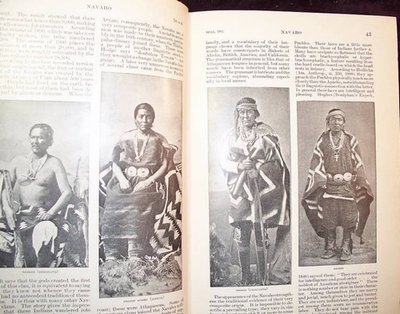 Important 1st Ed 1907 Two Volumes American Indian Archeology, Arts, Biography, Language w/ Map