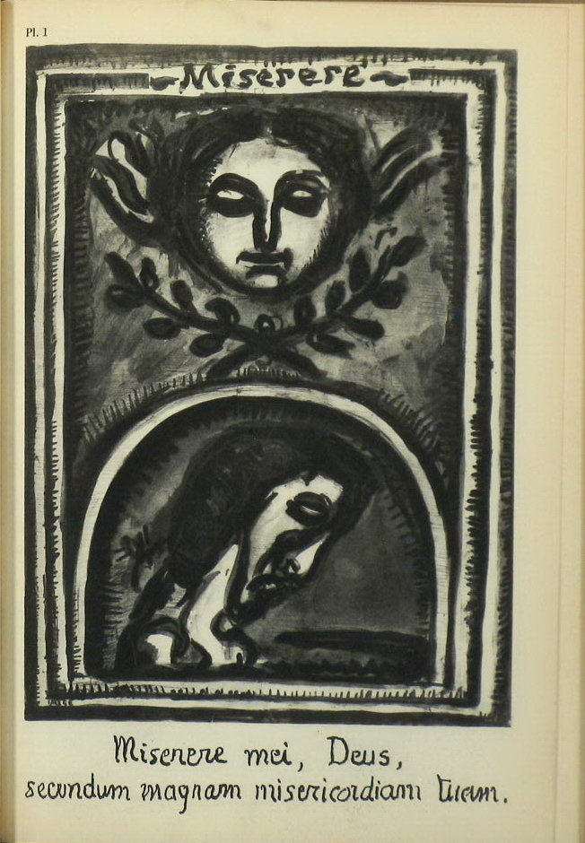 MOMA 1st Ed Book Miserere by Georges Rouault 1952 Gravure Illustrations