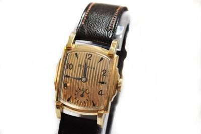RARE 1950 Bulova Academy Award Z Two Tone Watch