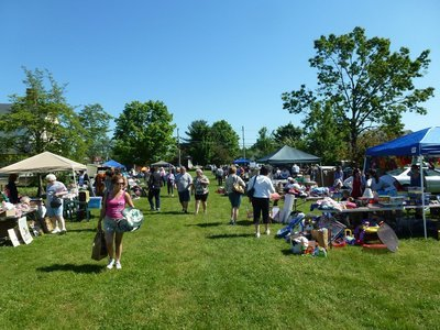 Register to have your Tag Sale or Craft Display at First Church Picnic and Bar-B-Que