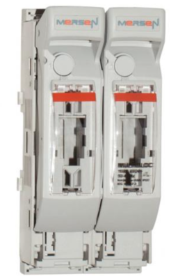 Mersen NH 2 pole Battery Fuse Disconnector (with fuses) (ex. VAT)