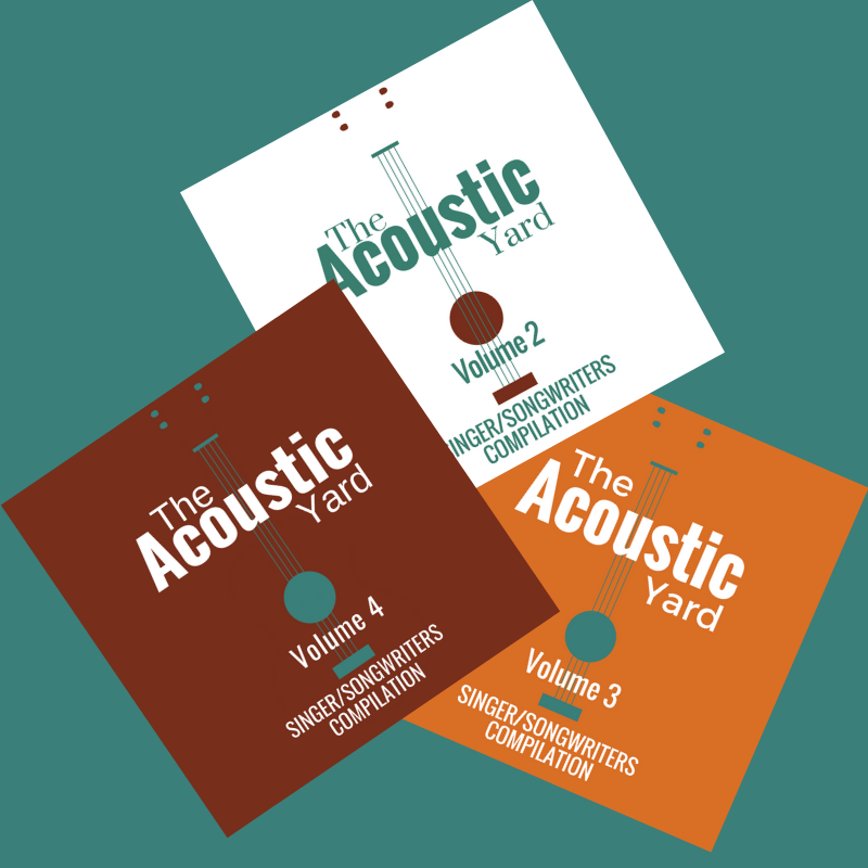 The Acoustic Yard Compilation CD set Volume 2, 3 and 4