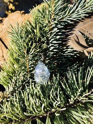 Full Moon Ceremonial Handwrapped Tumbled Celestite Crystal