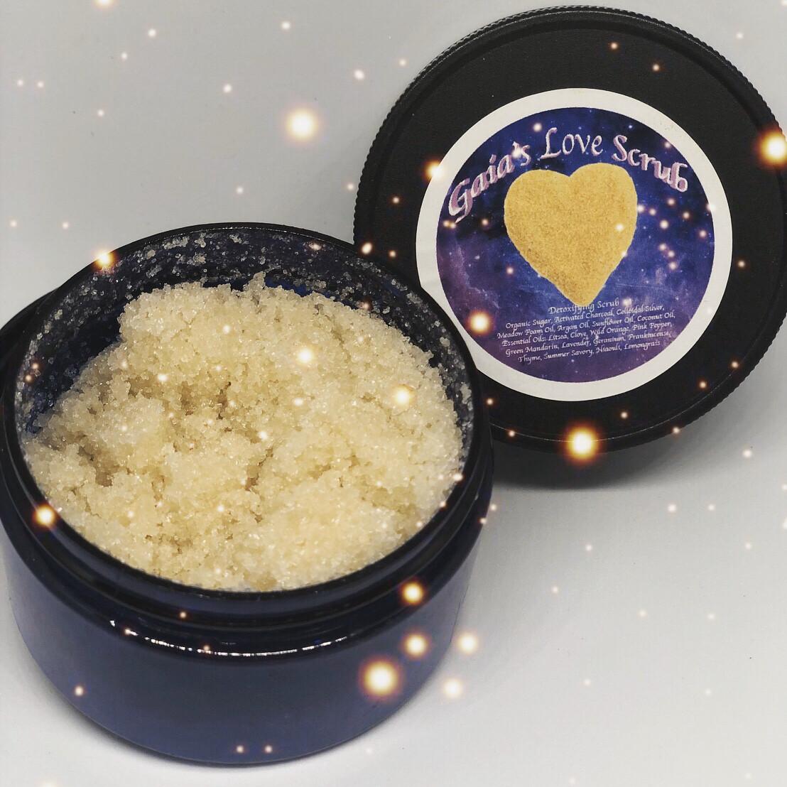 Gaia's Sugar Scrub