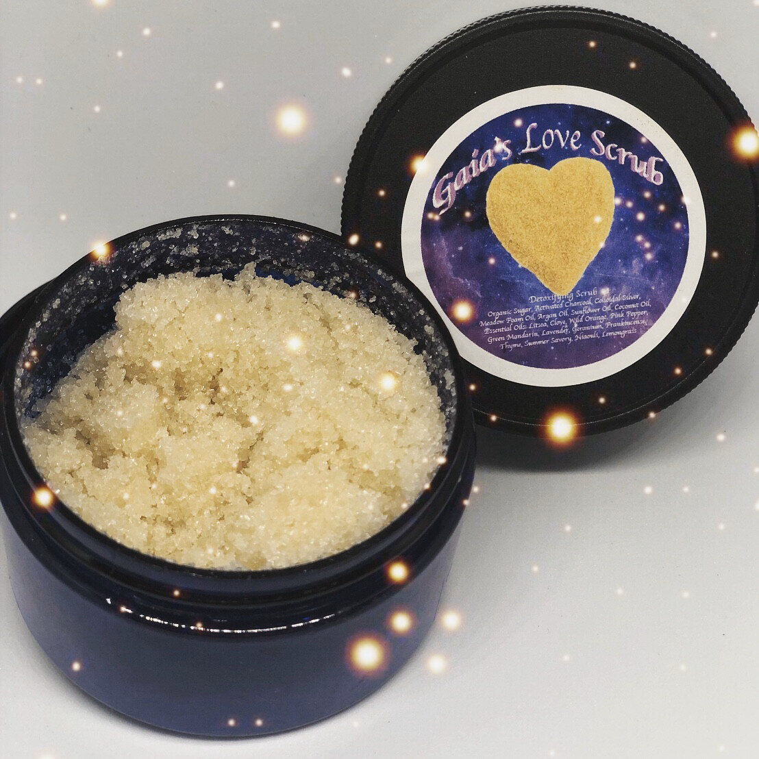Gaia's Sugar Scrub 4oz