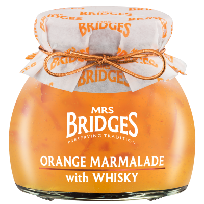 Mrs Bridges Scottish Orange Marmalade with Whisky 113g