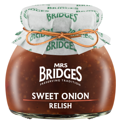 Mrs Bridges Sweet Onion Relish 100g