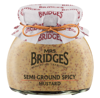 Mrs Bridges Semi Ground Spicy Mustard 200g