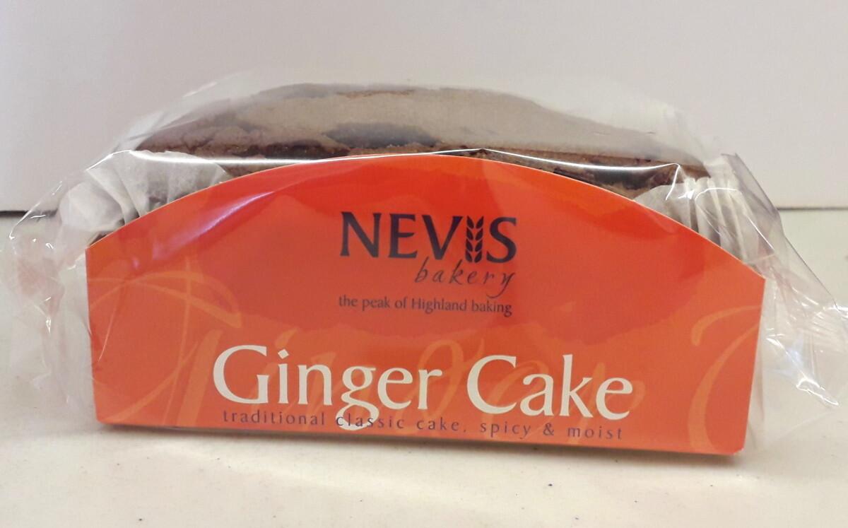 Nevis Bakery Ginger Cake (350G)