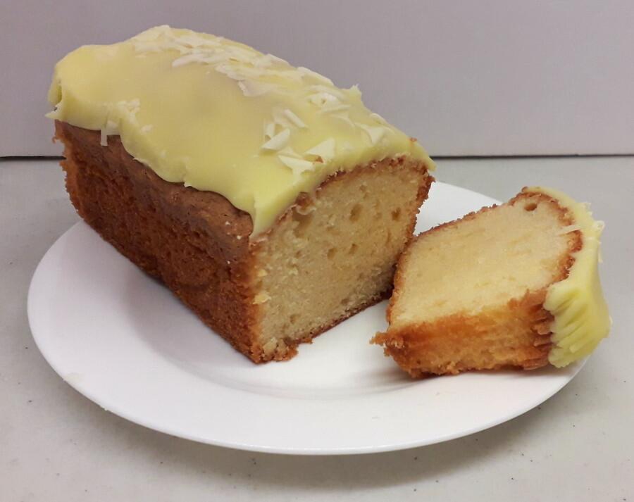 Nevis Bakery Lemon Fudge Cake (420G)