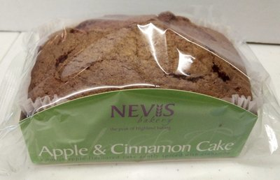Nevis Bakery Apple & Cinnamon Cake (350G)