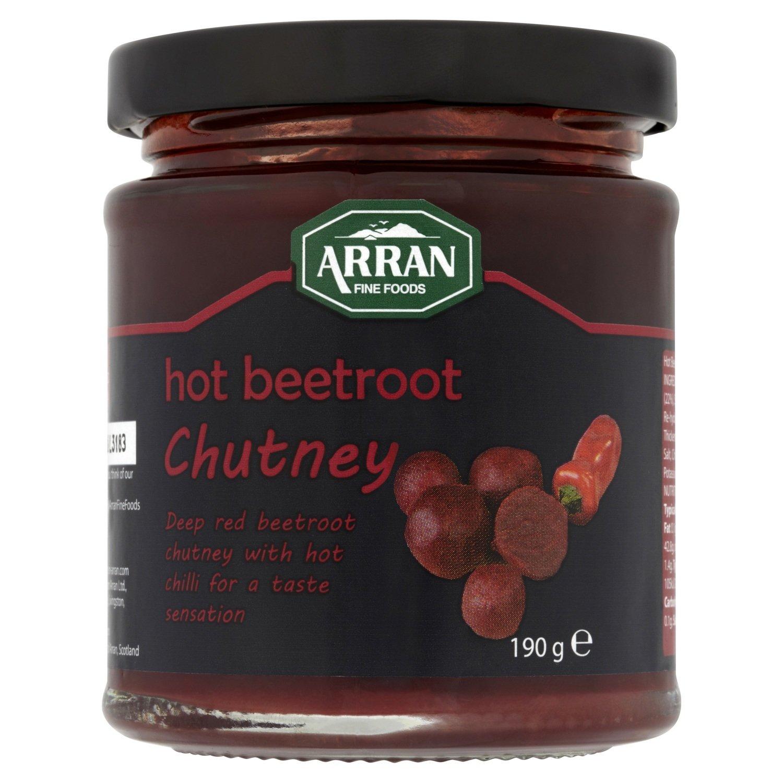 Hot Beetroot Chutney