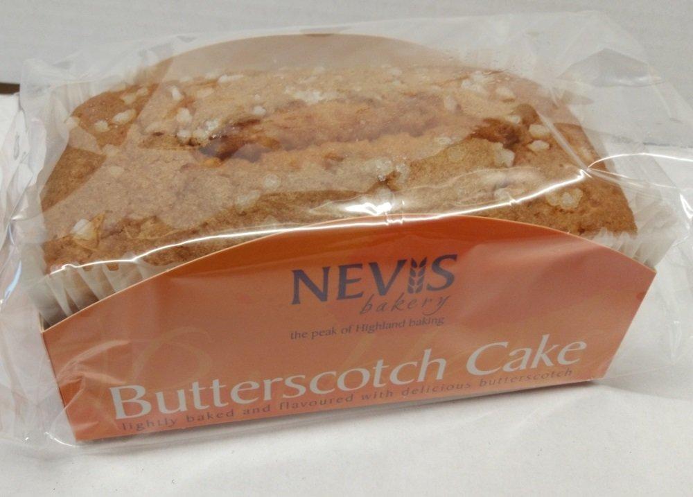 Nevis Bakery Butterscotch Cake (350G)