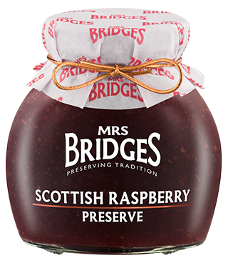 Mrs Bridges Scottish Raspberry Preserve 340g