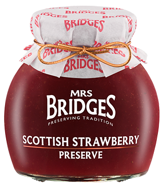 Mrs Bridges Scottish Strawberry Preserve 340g