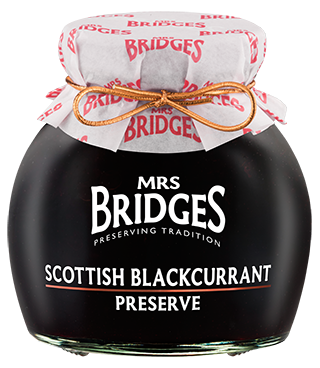 Mrs Bridges Scottish Blackcurrant Preserve 340g