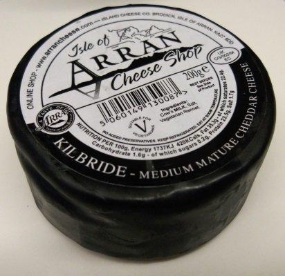 Arran KILBRIDE Medium Mature Cheddar Cheese 200g